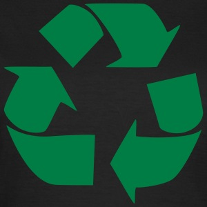 Recycling symbol T-shirts - Vrouwen T-shirt