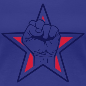 star fist T-Shirts - Women's Premium T-Shirt