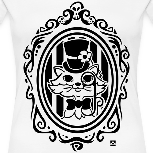 Cat victorian style