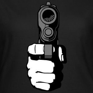gun - i shoot you T-Shirts - Women's T-Shirt