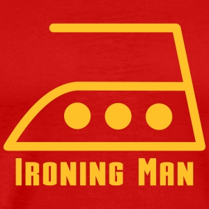 ironing man T-Shirts - Men's Premium T-Shirt