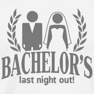 bachelor's last night out T-Shirts - Men's Premium T-Shirt