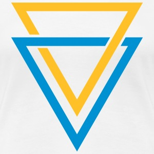 double triangle T-Shirts - Women's Premium T-Shirt