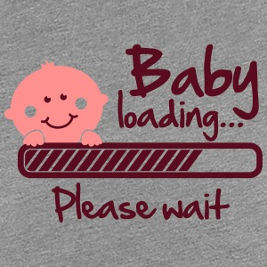 Baby loading - please wait T-shirts - Vrouwen Premium T-shirt