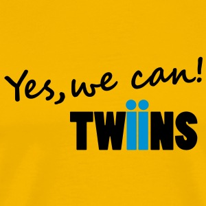 yes we can twins - Männer Premium T-Shirt