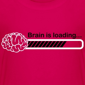 brain is loading Shirts - Teenage Premium T-Shirt
