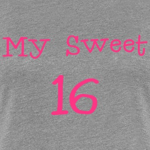 My Sweet 16/16 Fødselsdag / Party 1c T-shirts - Dame premium T-shirt