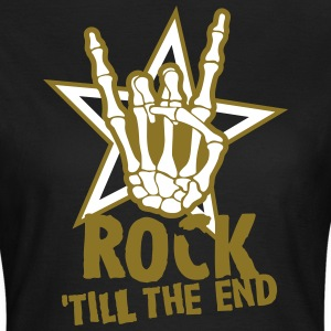rock 'till the end star T-Shirts - Women's T-Shirt