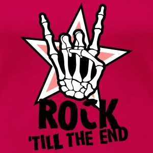 rock 'till the end star Tee shirts - T-shirt Premium Femme