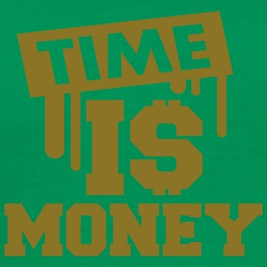 Time Is Money T-shirts - Herre premium T-shirt