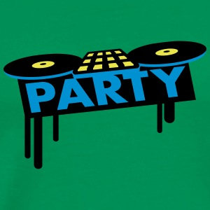 Party DJ Pult T-shirts - Premium-T-shirt herr