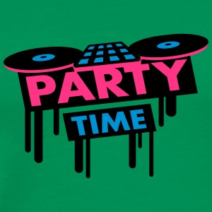 Party Time DJ Pult T-skjorter - Premium T-skjorte for menn