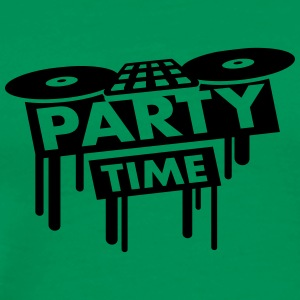 Party Time DJ Pult T-shirts - Mannen Premium T-shirt