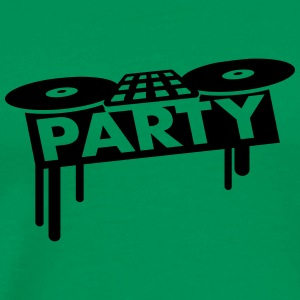 Party DJ Pult T-skjorter - Premium T-skjorte for menn