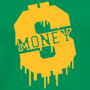 Money Graffiti Camisetas - Camiseta premium hombre