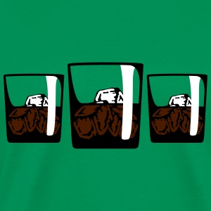 3 Drinks T-shirts - Herre premium T-shirt