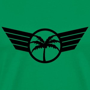 Cool Palm Emblem T-Shirts - Men's Premium T-Shirt