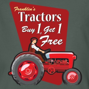 Franklin's Tractors - Men's Organic T-shirt