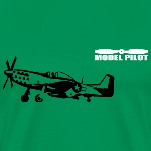 model_pilot T-shirts - Mannen Premium T-shirt