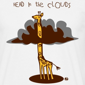 head in the clouds T-Shirts - Männer T-Shirt