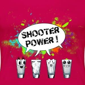 SHOOTER POWER - T-shirt Premium Femme