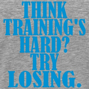 Think Trainings Hard Camisetas - Camiseta premium hombre