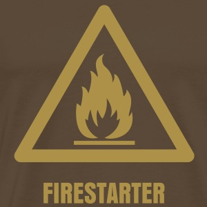 Hazard Symbol - Flammable T-Shirts - Men's Premium T-Shirt
