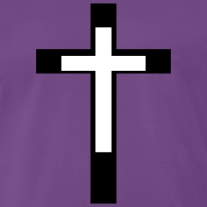 Kreuz Christian Cross - Männer Premium T-Shirt