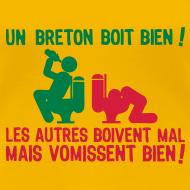 Motif ~ Un breton boit bien...