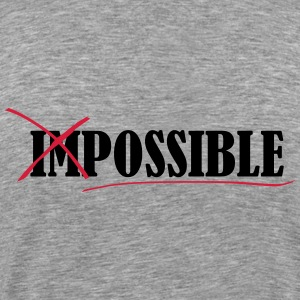 Impossible T-Shirts - Men's Premium T-Shirt