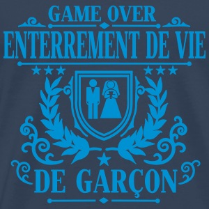 Enterrement de vie de garçon - Game Over T-Shirts - Männer Premium T-Shirt