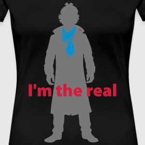 Sherlock: I'm the real 2 T-Shirts - Frauen Premium T-Shirt