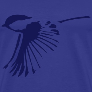 Small bird in flight - Men's Premium T-Shirt