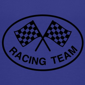 Racing Team, mit Zielflaggen - Kinder Premium T-Shirt