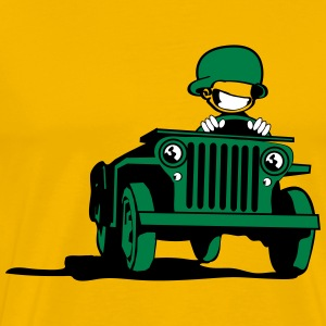 jeep_3c T-Shirts - Men's Premium T-Shirt