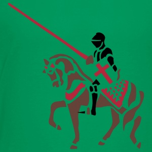 Jousting Knight medieval patjila Shirts - Teenage Premium T-Shirt