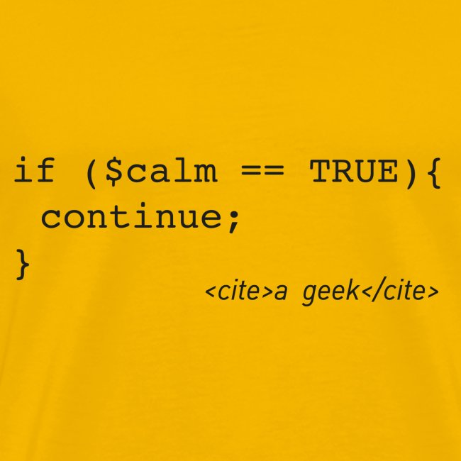 PHP Coder's 'Keep Calm'