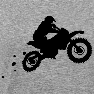 race bike T-shirts - Mannen Premium T-shirt