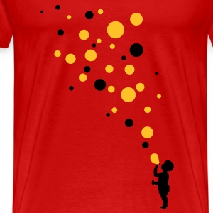 Love color bubbles T-Shirts - Men's Premium T-Shirt