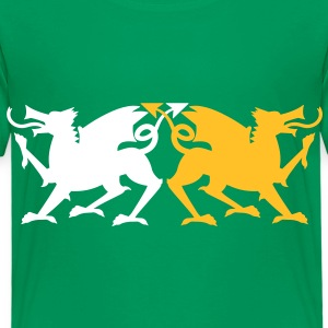 rampant dragons solid colour Shirts - Kids' Premium T-Shirt