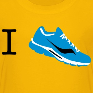 i love run sneaker Shirts - Kids' Premium T-Shirt