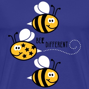 Be different - be yourself - Biene - Bee - 3C T-Shirts - Männer Premium T-Shirt