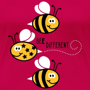 Be different - be yourself - Biene - Bee - 3C T-Shirts - Frauen Premium T-Shirt
