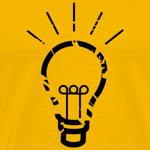 light bulb idea T-Shirts - Men's Premium T-Shirt