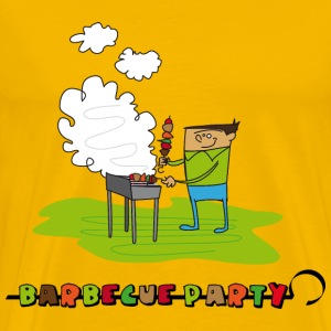 barbecue_party_2 Tee shirts - T-shirt Premium Homme