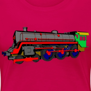 Steam locomotive T-Shirts - Women's Premium T-Shirt