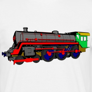 Steam locomotive T-Shirts - Men's T-Shirt