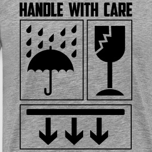 handle with care T-shirts - Mannen Premium T-shirt
