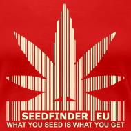 Motiv ~ SeedFinder.eu GirlieShirt (Glow in the Dark)