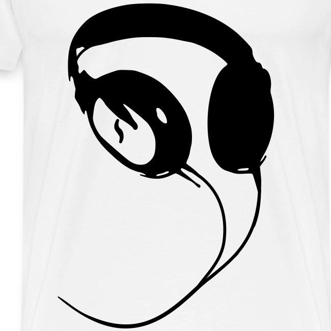 Kopfhörer T-Shirt